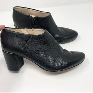 Clarks Narrative Black Ankle Booties